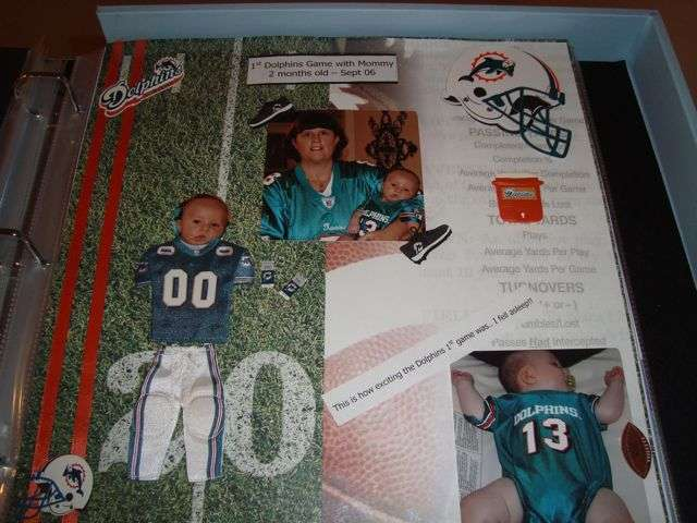 Alex's 1st Dolphins game