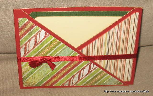 christmas card - Criss Cross