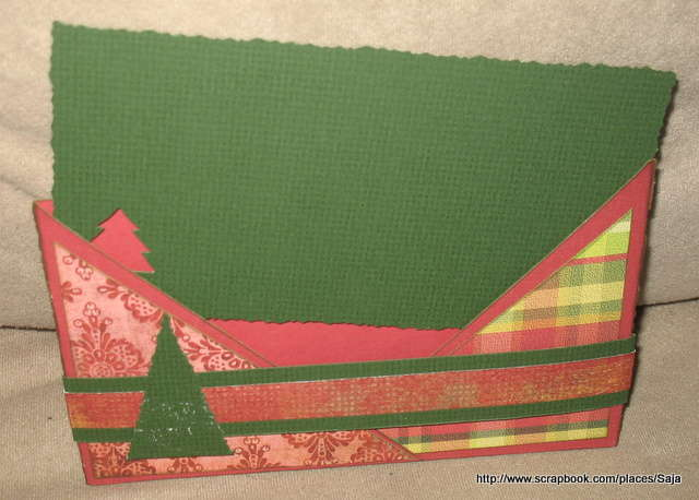 christmas card - Criss Cross