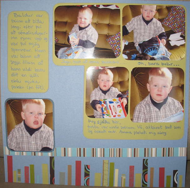 B - Presents - 3 years old