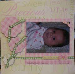 Sweet Baby Girl Kiah