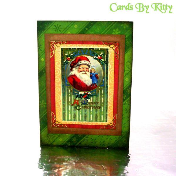 Vintage image Christmas Card