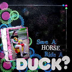 Save a horse, ride a DUCK?
