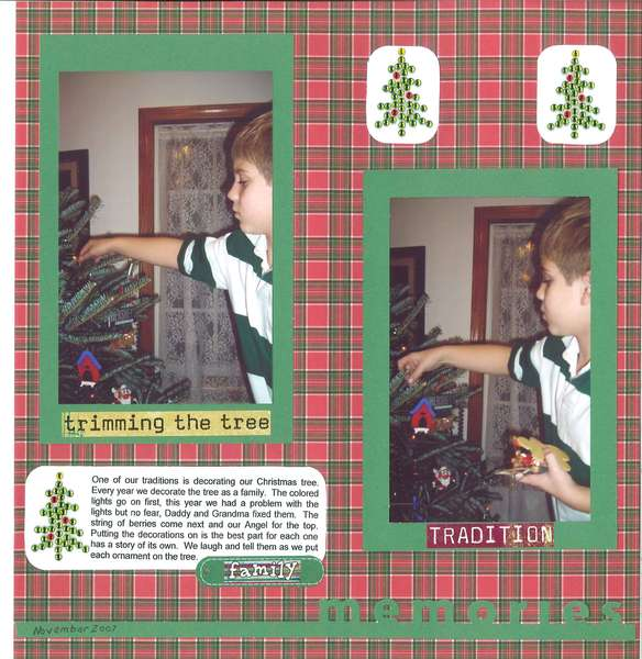Trimming Our Tree Page 2