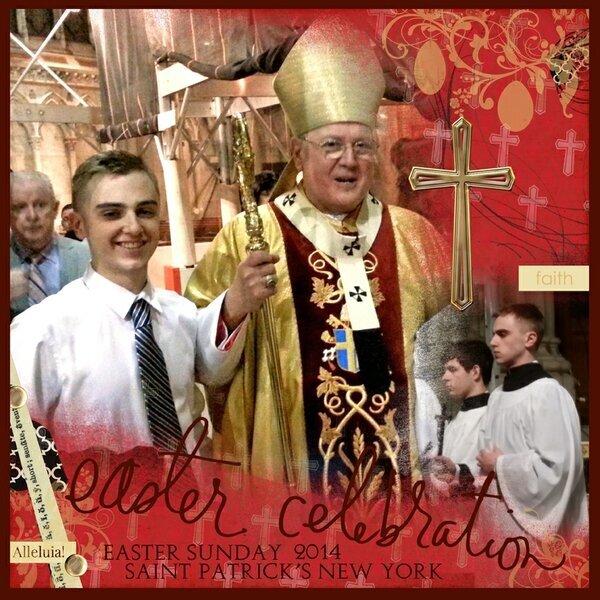 Easter Mass 2014