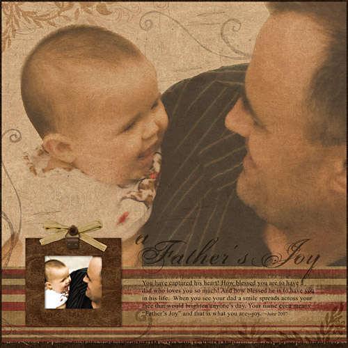 A Father's Joy