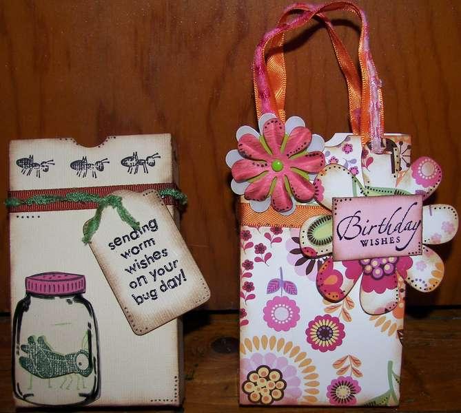 Birthday Lunchbags Cricut TBBM