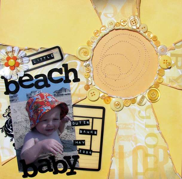 ~The Paper Element~ Little Beach Baby