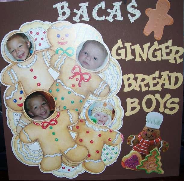 Baca's Gingerbread Boys