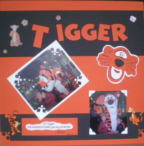 Tigger.. my hero