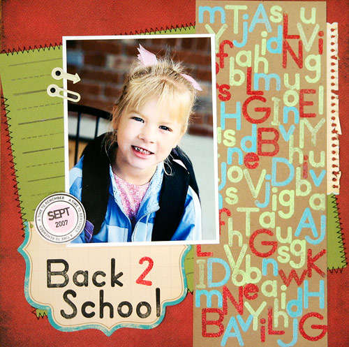Back 2 School **NEW Gel-a-tins Stamps**