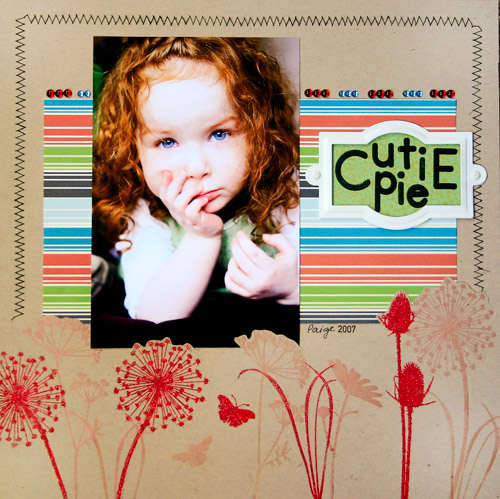 Cutie Pie **NEW Gel-a-tins Stamps**