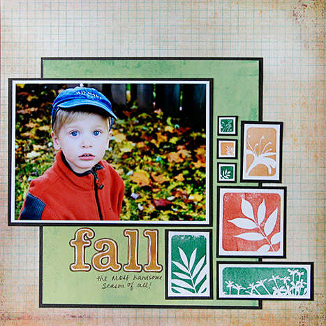 Fall **New Gel-a-tins Stamps**