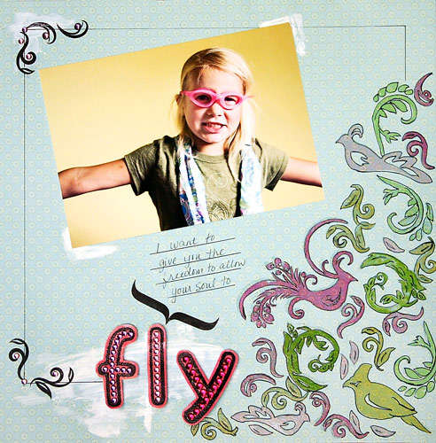 Fly **NEW Gel-a-tins Stamps**