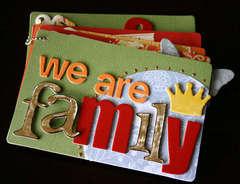 We Are Family - Mini Book