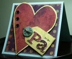 For You Pa Father's Day Card