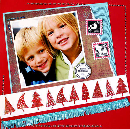 Peace and Cheer **New Gel-a-tins Holiday stamps**