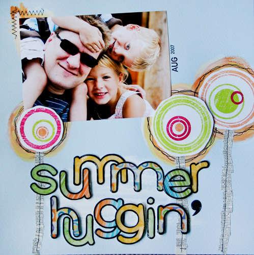 Summer Huggin' **NEW Gel-a-tins Stamps**