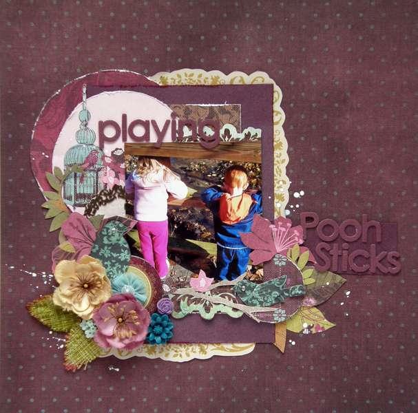 Playing Pooh Sticks *Prima*