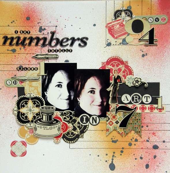 Numbers Belong in Art