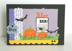 Eeeek!  Happy Halloween Card