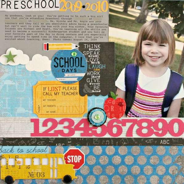 preschool *NEW LYB*