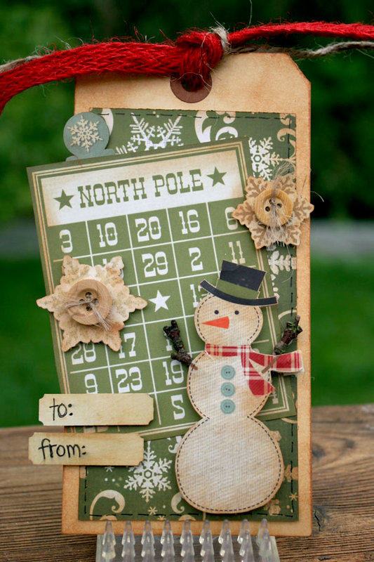 Handmade Holiday Tag Set