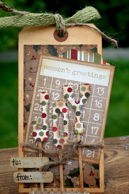 Handmade Holiday Tag Set