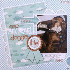 ADorable Doggie Thief