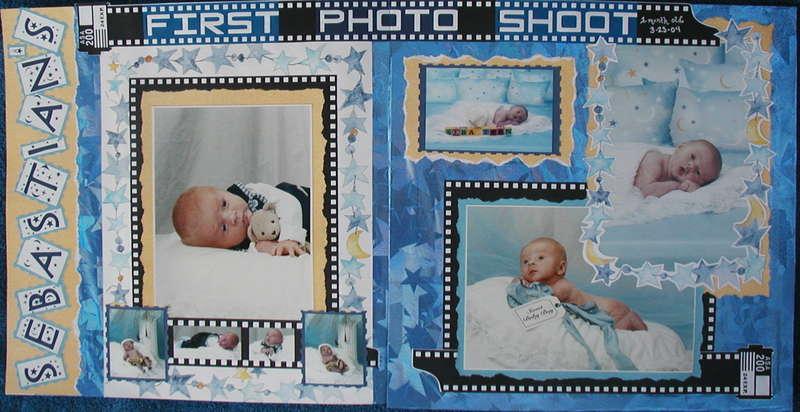 Sebastian's First Photo Shoot