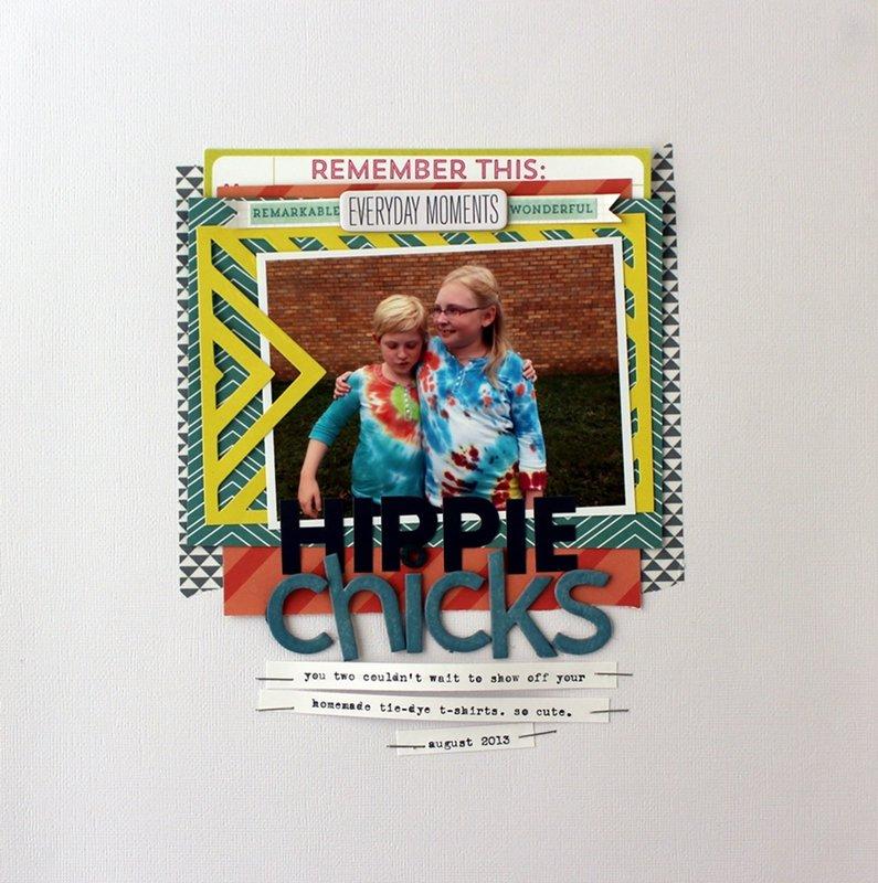 Hippie Chicks *Cocoa Daisy Dec kit-Home Again
