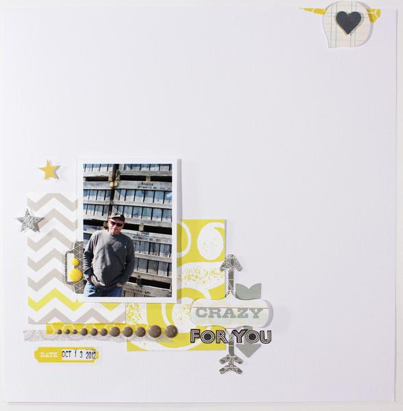 crazy for you *CocoaDaisy Jan 2013 kit