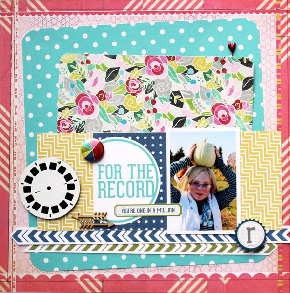 for the record *cocoa daisy feb. kit