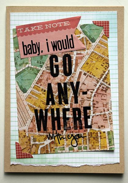 go anywhere card *cocoa daisy march kit
