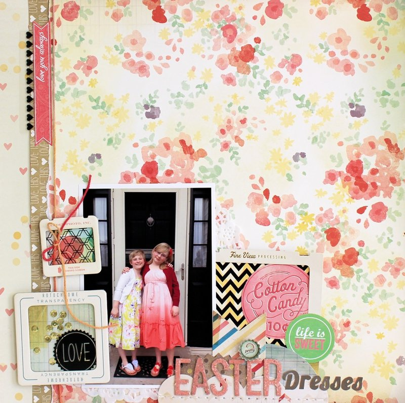 Easter Dresses **Cocoa Daisy June kit