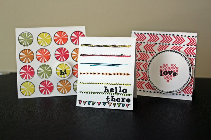 Mini Card Set *Cocoa Daisy Oct. kit