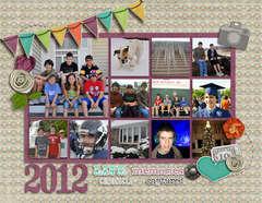 2012 Calendar Cover