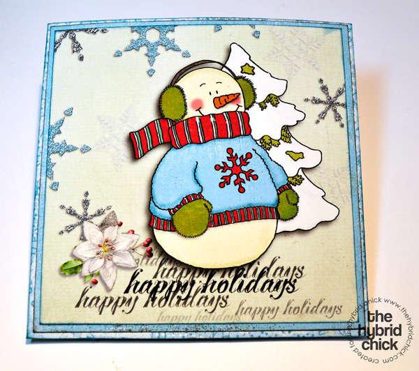 CD Christmas Gift Card - outside (Hybrid)
