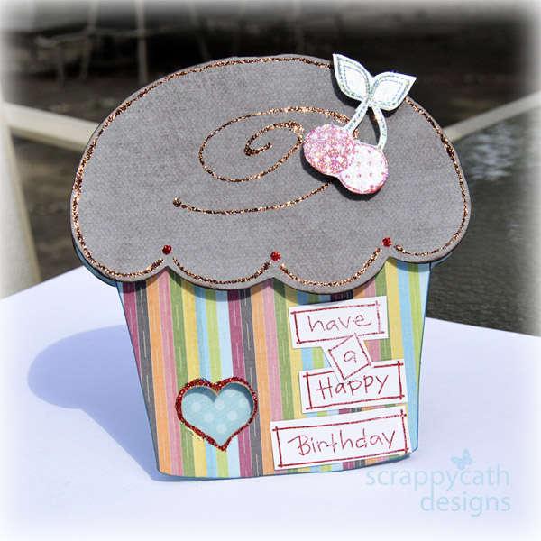 Choco Cupcake Card *hybrid*