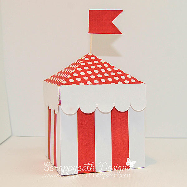 Circus Birthday Card and Gift Box ~Hybrid~
