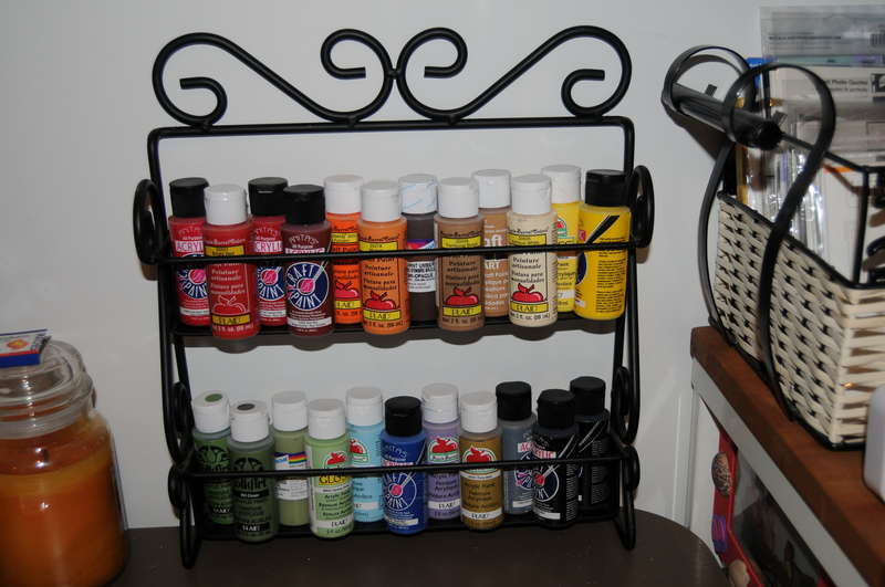 Paint storage *recycled*
