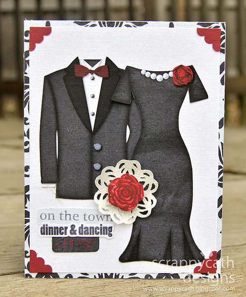 On the Town, You and Me card