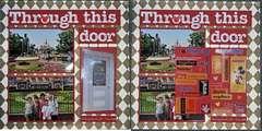 Disneyland page 1 door closed & opened