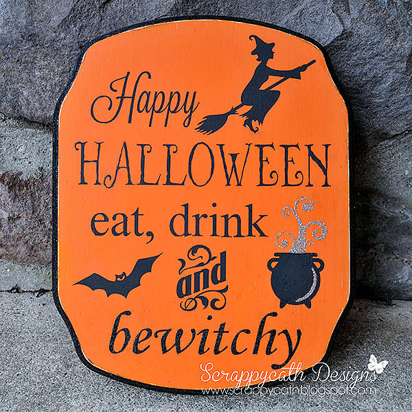 """Halloween """"Bewitchy"""" Sign"""