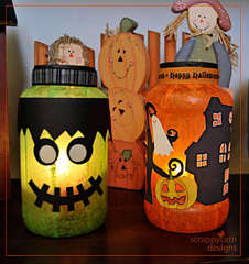 Halloween Lanterns Home Decor
