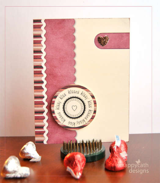 Kissy Kiss Valentine Card HYBRID