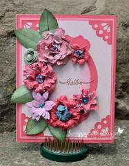 A little Hello Flower Card