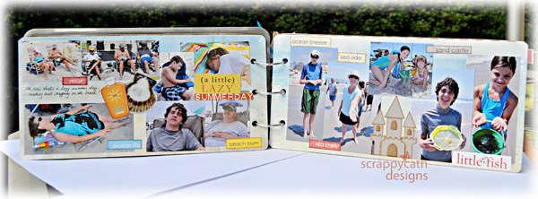 License Plate Mini Album pg 8-9