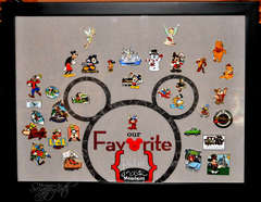 Disney Pin Shadow Box