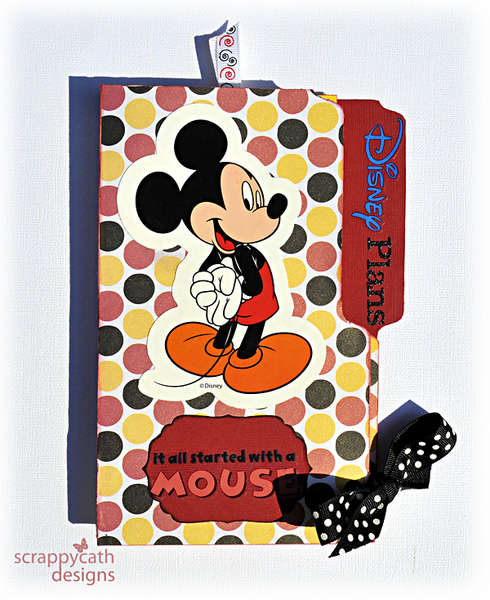 Disney Trip Planner (front)